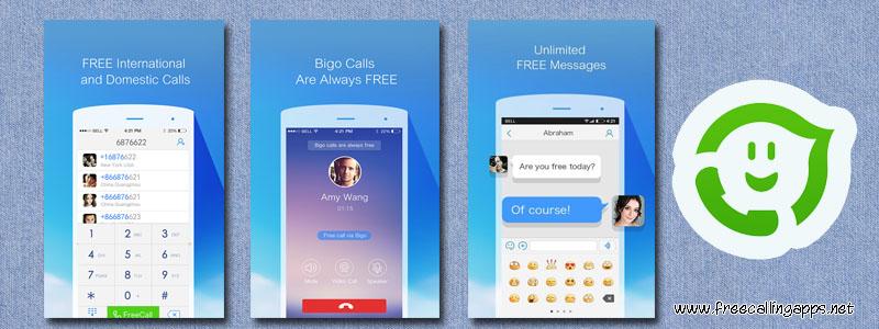 Bigo app , Free domestic and international calls - Free