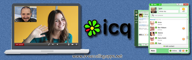 Download ICQ messenger