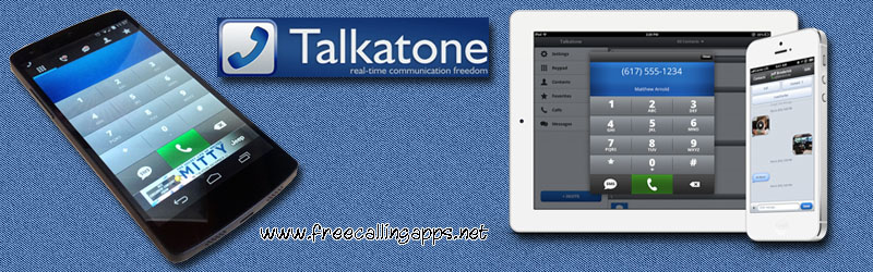 Talkatone app free calls and text around the world  - Free calling apps