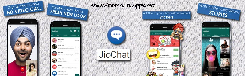JioChat app, a free calling app from India  - Free calling apps