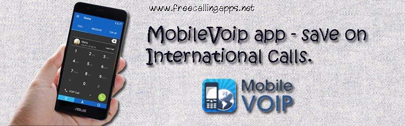 mobilevoip app