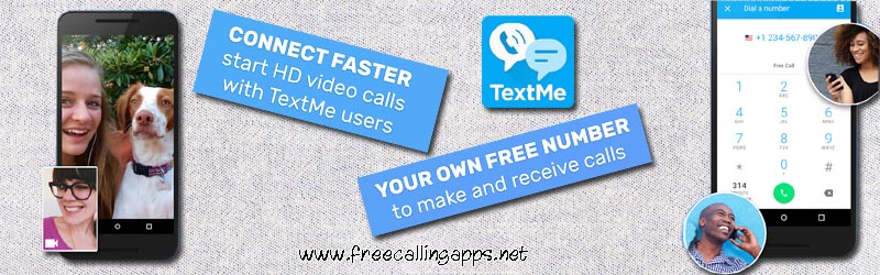 TextMe app, make free calls and texts to any mobile  - Free