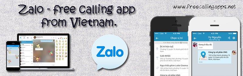 Zalo app, the popular messenger in Vietnam  - Free calling apps