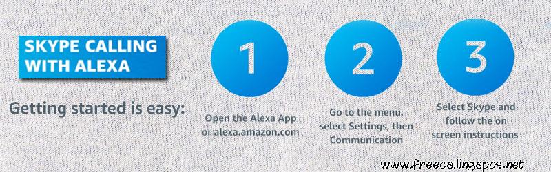 skype with alexa