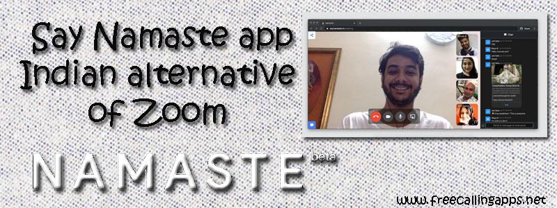 Say Namaste app