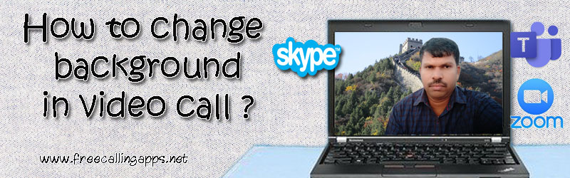change video call background